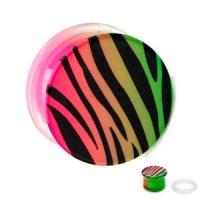Classic Plug - Zebra - Neon