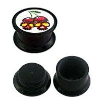 FTS - Picture Plug - Cherry Skulls