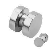 Magnet Fake Plug - Stahl - Silber