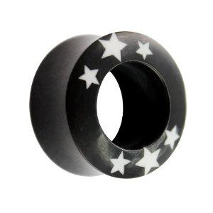 Horn Tunnel - Schwarz - Sterne -Weiß